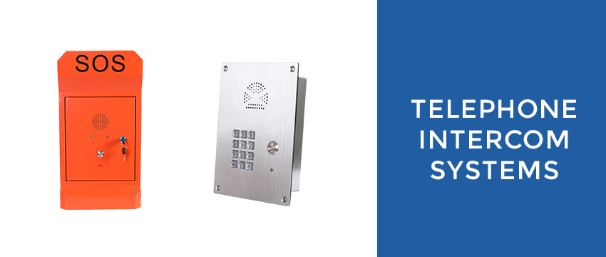 J&R Technologies Emergency Intercom and Multi-Function Intercom Systems