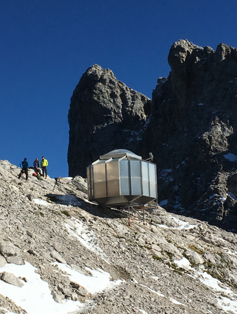 JR305-SC 3G Emergency Telephone Was Installed In Alps mountains