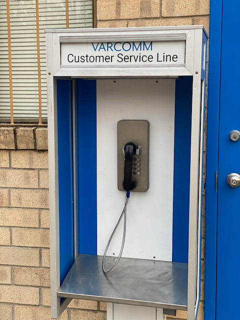 J&R's Vandal Resistant Telephone Project in the USA