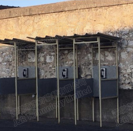 J&R's Vandal Resistant Telephone Applied on Mexican Prison