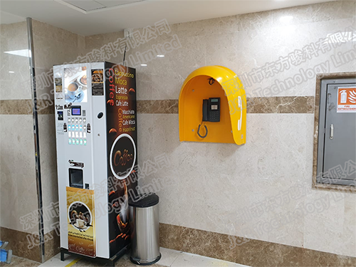 Soundproof Acoustic Telephone Booth Project in Saudi Arabia
