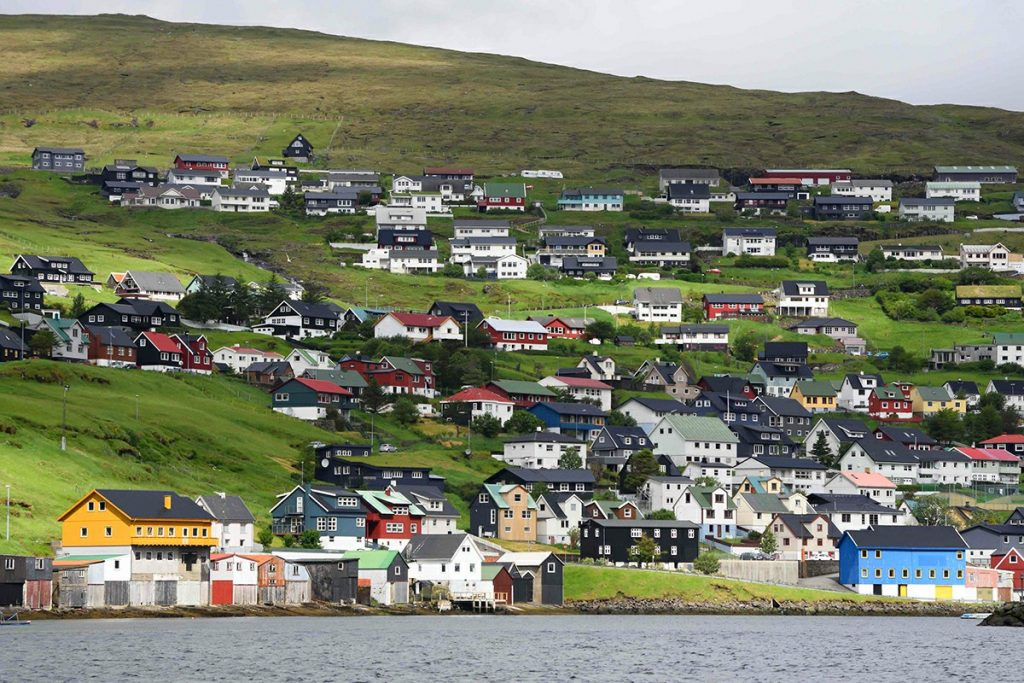 J&R emergency telephone installed in the Faroe Islands